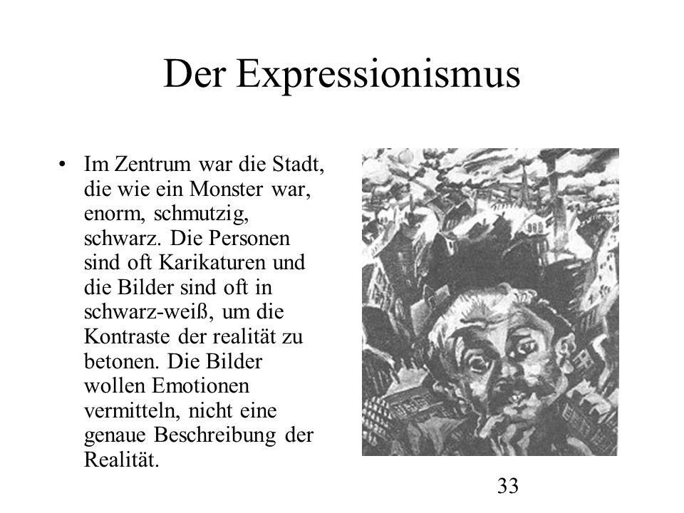 34 Der Expressionismus