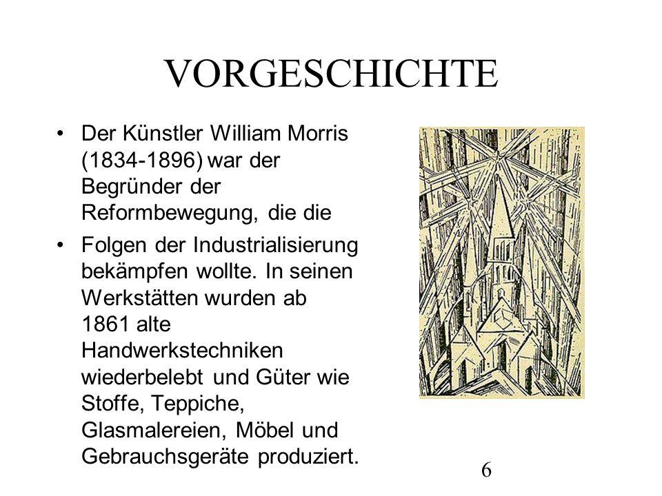 7 Das Bauhaus nimmt in der Geschichte von Kultur, Architektur, Design, Kunst und neuen Medien des 20.