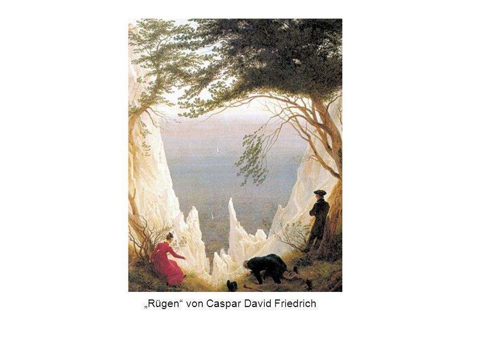"""""""Rügen"""" von Caspar David Friedrich"""