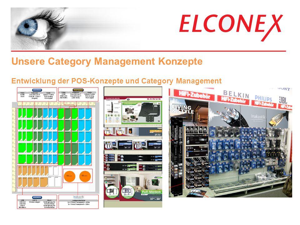 _____________________________________ Unsere Category Management Konzepte Entwicklung der POS-Konzepte und Category Management
