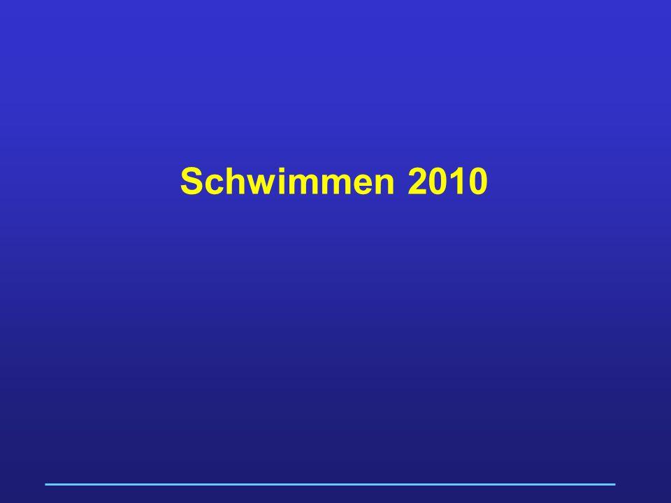Schwimmen 2010