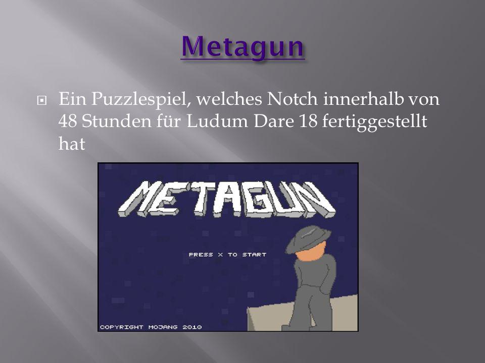  Ein Puzzlespiel, welches Notch innerhalb von 48 Stunden für Ludum Dare 18 fertiggestellt hat