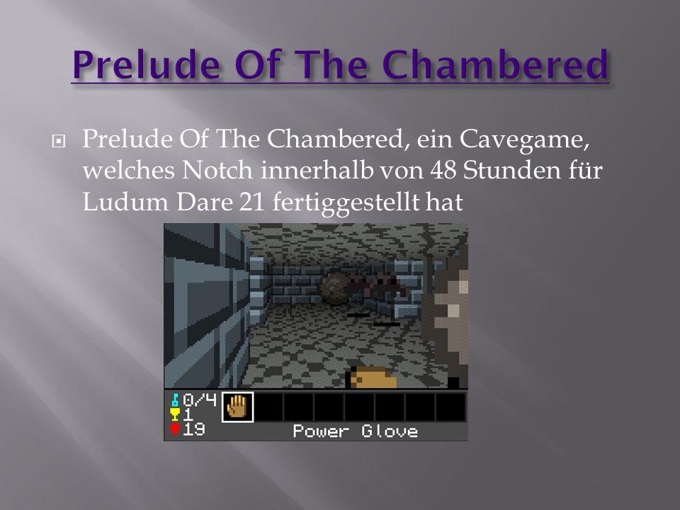  Prelude Of The Chambered, ein Cavegame, welches Notch innerhalb von 48 Stunden für Ludum Dare 21 fertiggestellt hat