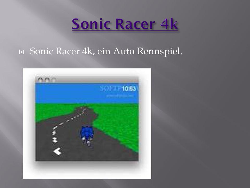  Sonic Racer 4k, ein Auto Rennspiel.