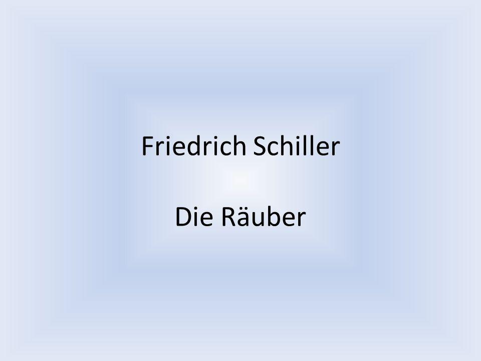 Friedrich Schiller Die Räuber