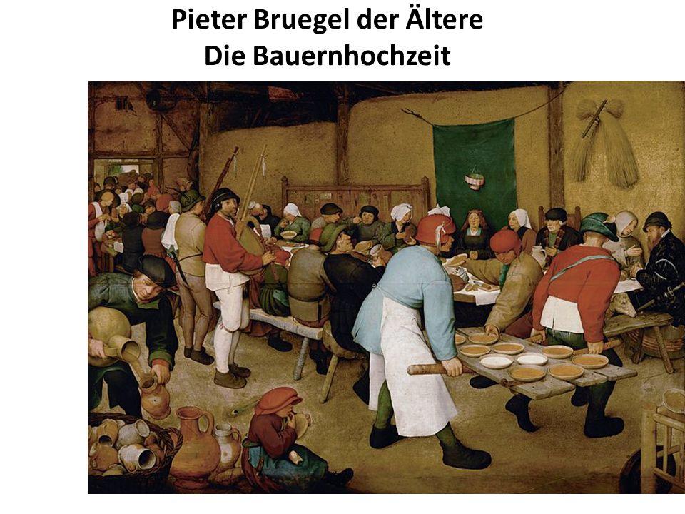 Pieter Bruegel der Ältere Die Bauernhochzeit 1566 1566