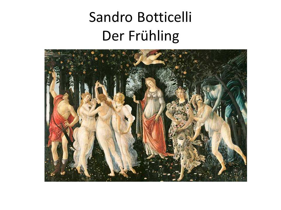 Sandro Botticelli Der Frühling