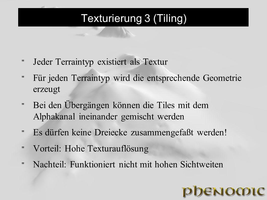 Texturierung 3 (Tiling)