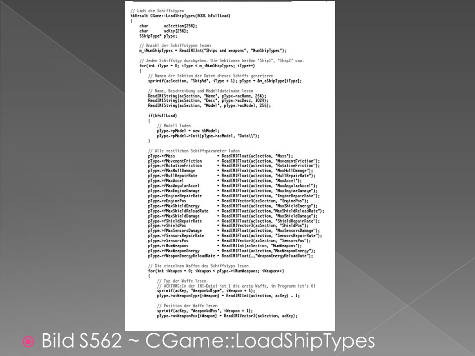  Bild S562 ~ CGame::LoadShipTypes