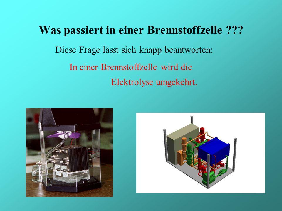 Geschichte Funktionsprinzip Formeln Anwendungsgebiete Verschiedene Arten von Brennstoffzellen