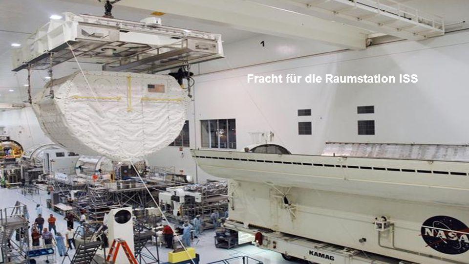 Space Shuttle - Laderaum für das Frachtgut. ( Payload Preparation Room - PPR )
