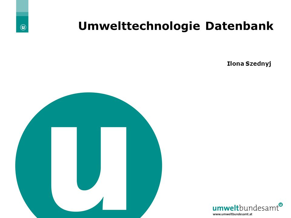 02.04.2015| Folie 3 Was ist die UT Datenbank.