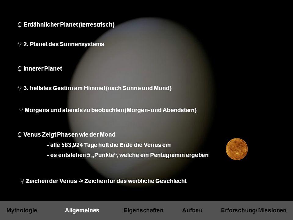 """♀ Planet-C 2010 (JAXA): 5 Kameras: 3 infrarot Kameras, 1 UV Kamera, 1 weitere für Blitze und Leuchterscheinungen ♀ BepiColombo 2012 (ESA/JAXA): Vorbeiflug an der Venus (""""swing by ) ♀ Venera D 2016 (Russland) geplant ist ein 1300 kg schwerer Lander Untersuchung der unteren Atmosphäre im Sinkflug Bilder im infrarot Bereich laut ESA rund 300 Millionen € MissionenAktuelle MissionenGeplante Missionen"""
