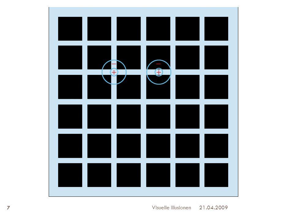 21.04.2009Visuelle Illusionen 7