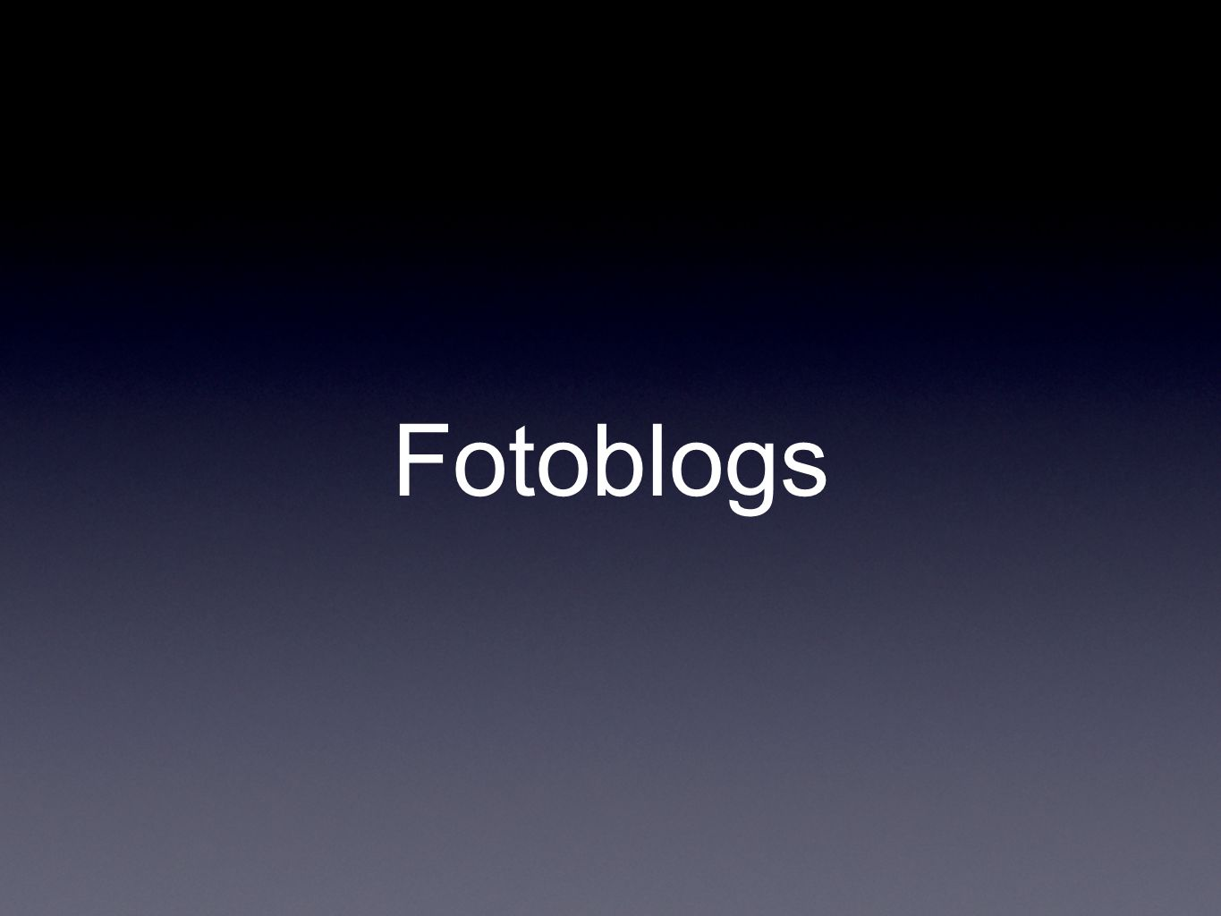 Fotoblogs