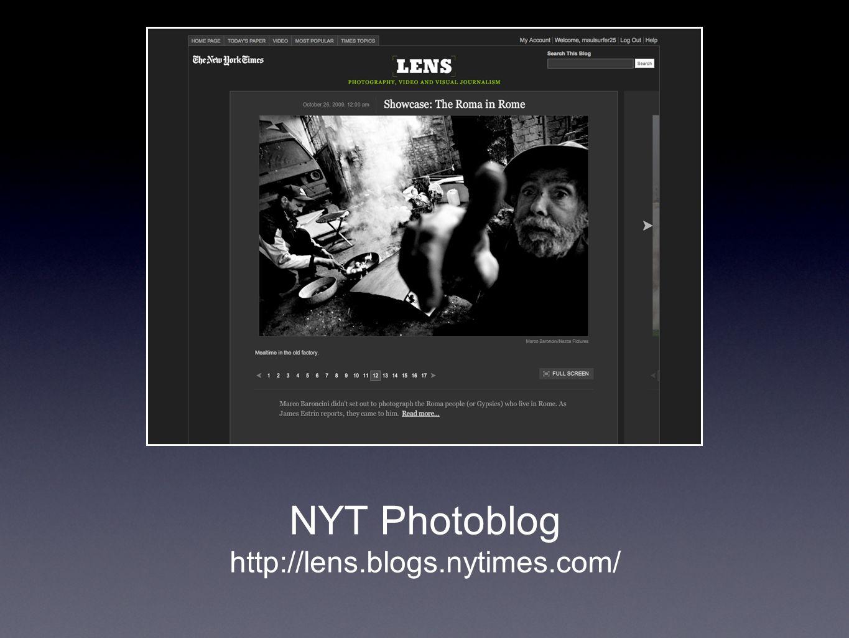 NYT Photoblog http://lens.blogs.nytimes.com/
