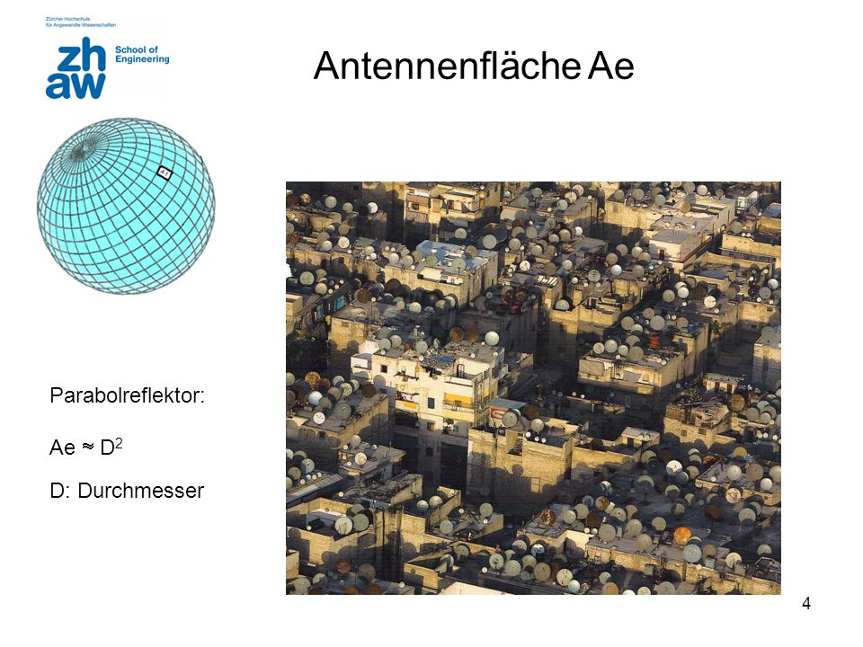 5 Nahfeld - Fernfeld Fernfeld beginnt bei: Vector D: grösste Dimension der Antenne : Wellenlänge Dipol Im Fernfeld dominiert Radiation Term http://phet.colorado.edu/en/simulation/radio-waves http://web.mit.edu/viz/EM/visualizations/light/DipoleRadiation/DipoleRadiation.htm