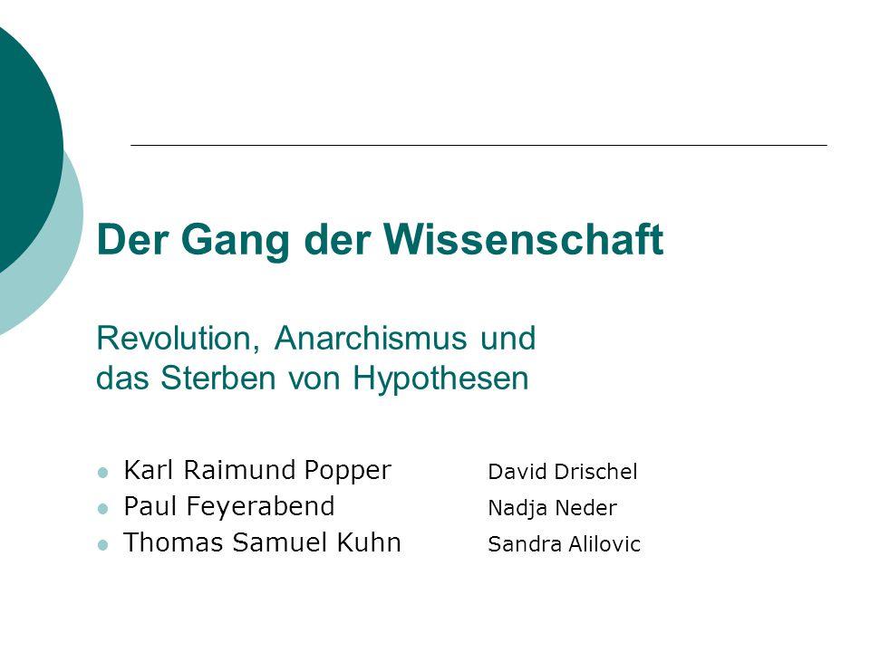 Karl Popper 1.Jugend und Elternhaus 2.