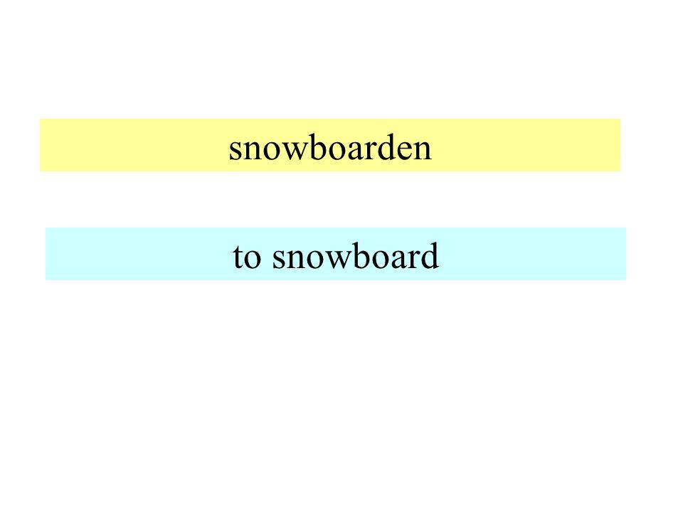 Ski laufen to ski