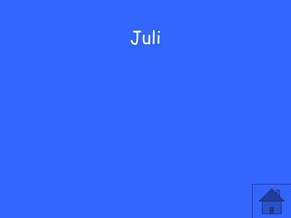 13 Juli
