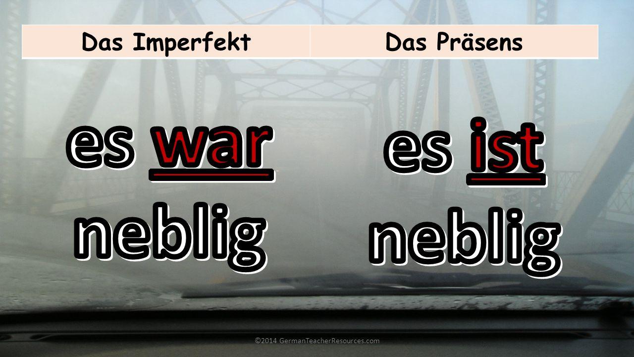 ©2014 GermanTeacherResources.com Das PerfektDas Präsens