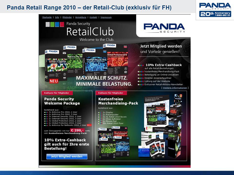 Panda Retail Range 2010 – der Retail-Club (exklusiv für FH)
