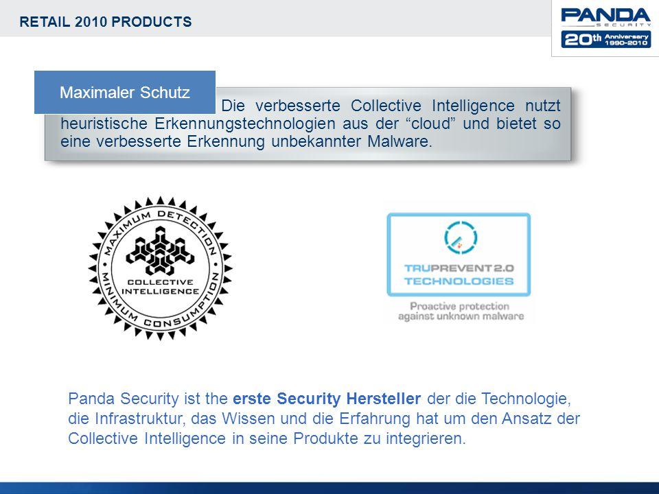 Die verbesserte Collective Intelligence nutzt heuristische Erkennungstechnologien aus der cloud und bietet so eine verbesserte Erkennung unbekannter Malware.