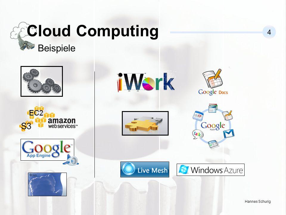 Hannes Schurig Cloud Computing 4 Beispiele