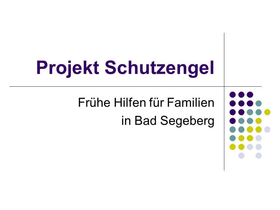 Projekt Schutzengel Frühe Hilfen für Familien in Bad Segeberg