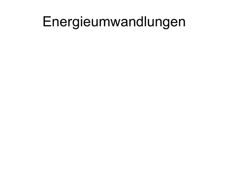 Energieumwandlungen