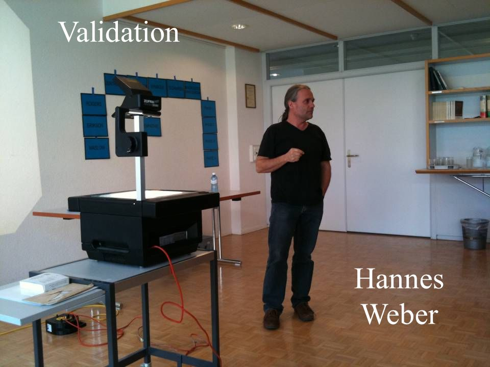 Validation Hannes Weber