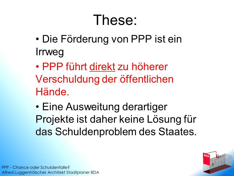 14 Zusatzproblem (nur?) in Gladbeck: Überdimensionierung Das Gladbecker Projekt wurde durch unnötiges Bauvolumen wesentlich teurer als nötig.