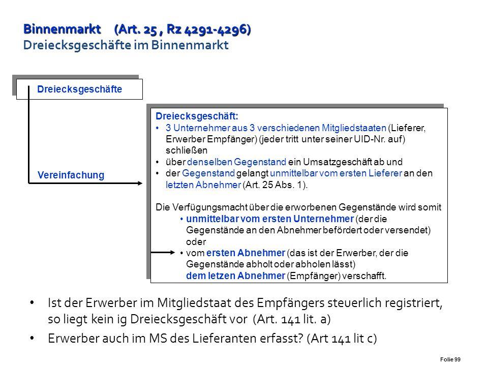 Variante d) CZ Ö1 Ö2 Ö3 Ö3 gibt den Auftrag zur Beförderung von DE zu Ö3 - Abholen Bewegte Lieferung - § 3 Abs. 8 Lieferort – CZ Ö2 Innergemeinschaftl