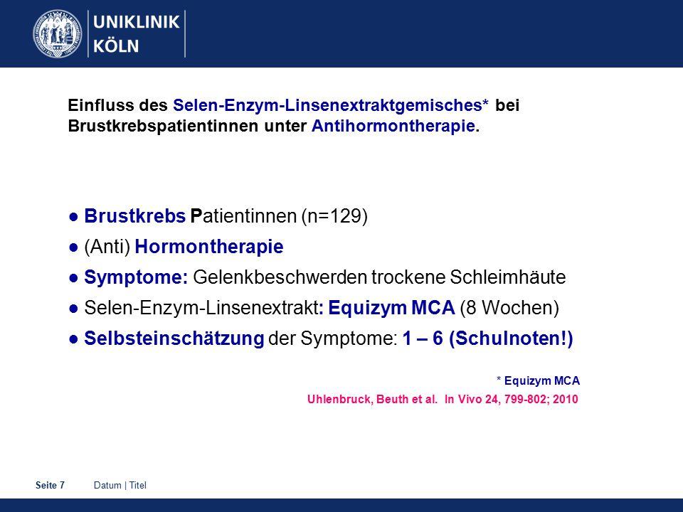 Datum | TitelSeite 18 Infektneigung Therapiemöglichkeiten ☻ Eberraute Tee (Artemisia abrotanum) trad.