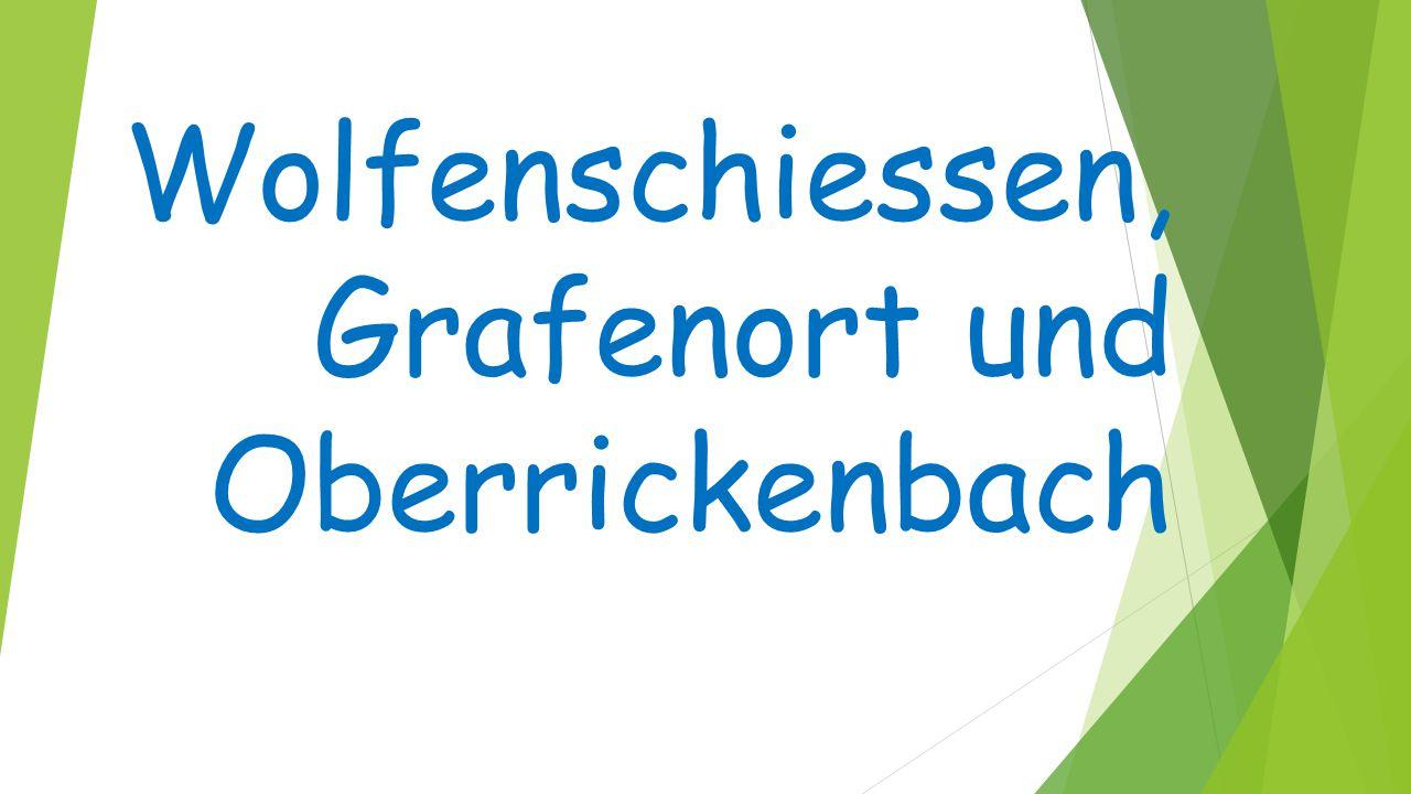 Inhalt  Wolfenschiessen  Spezielles von Wolfenschiessen  Grafenort  Spezielles von Grafenort  Oberrickenbach  Spezielles von Oberrickenbach