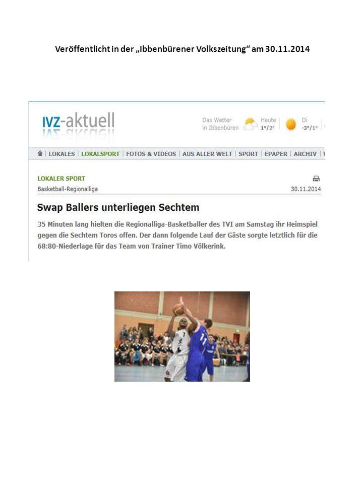 """Veröffentlicht im """"Werbekurier Wesseling am 25.11.2014"""
