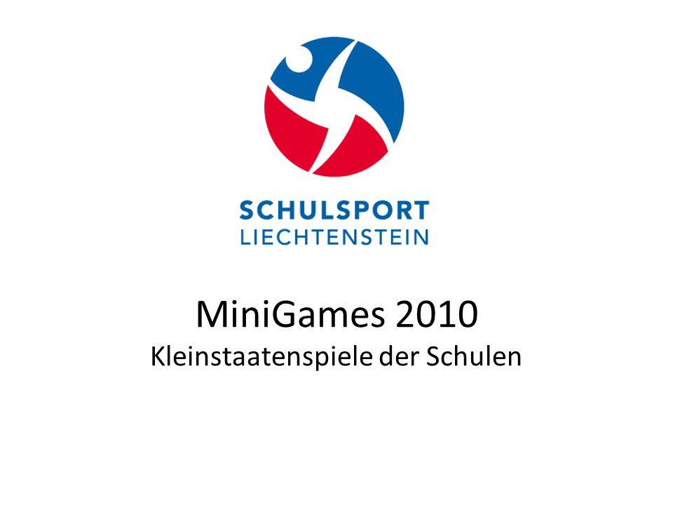 MiniGames 2010 Kleinstaatenspiele der Schulen