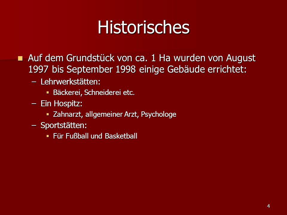 4 Historisches Auf dem Grundstück von ca.