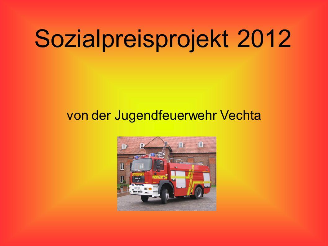 Sozialpreisprojekt 2012 von der Jugendfeuerwehr Vechta