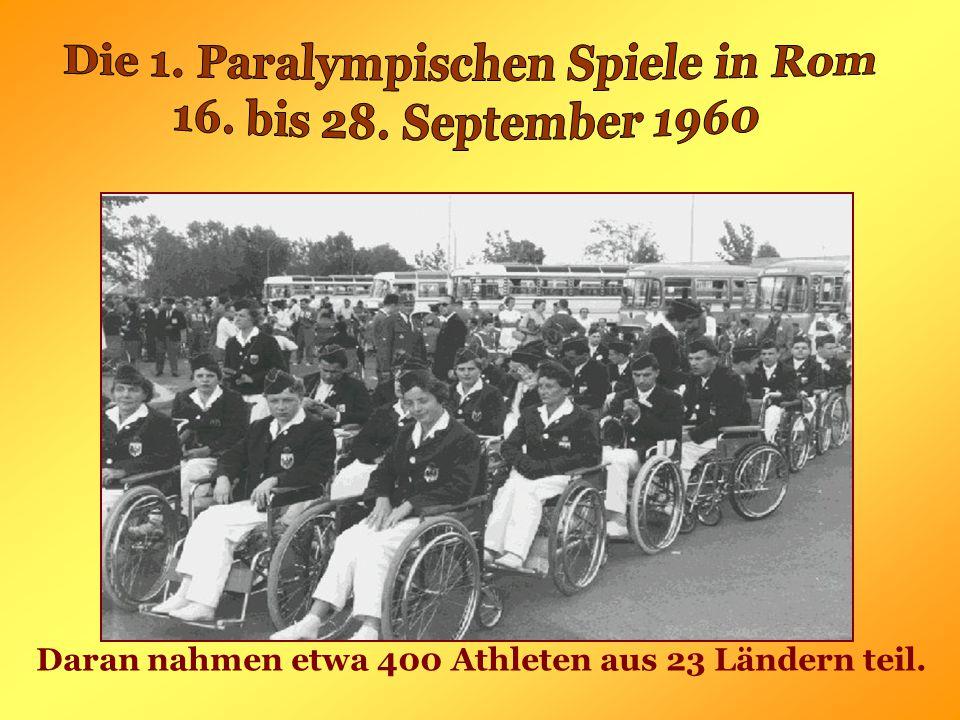 Daran nahmen etwa 400 Athleten aus 23 Ländern teil.