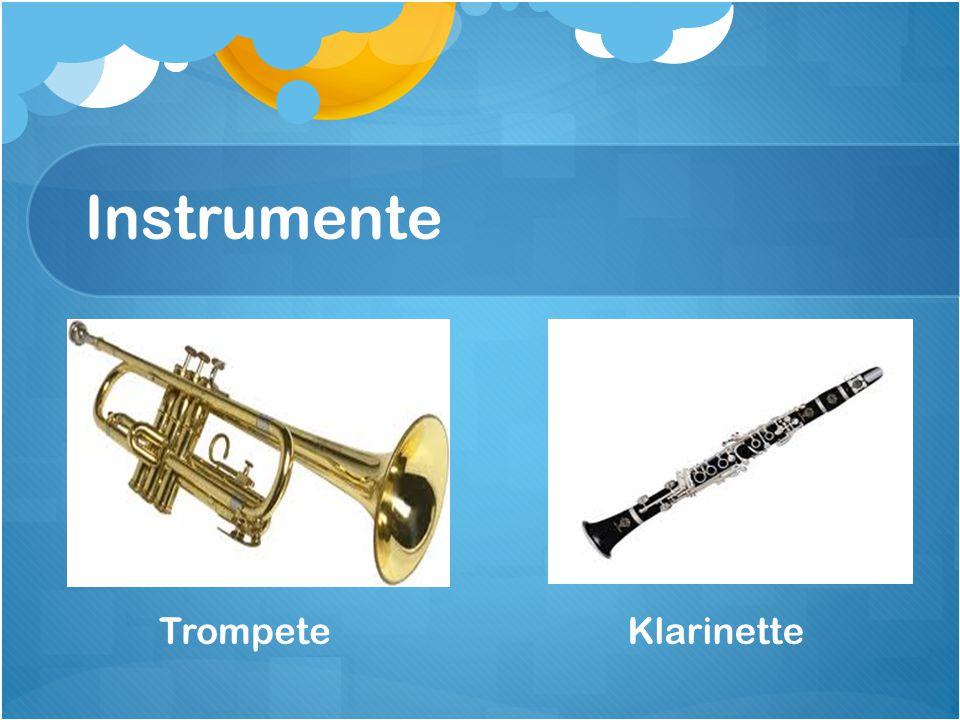 Instrumente TrompeteKlarinette