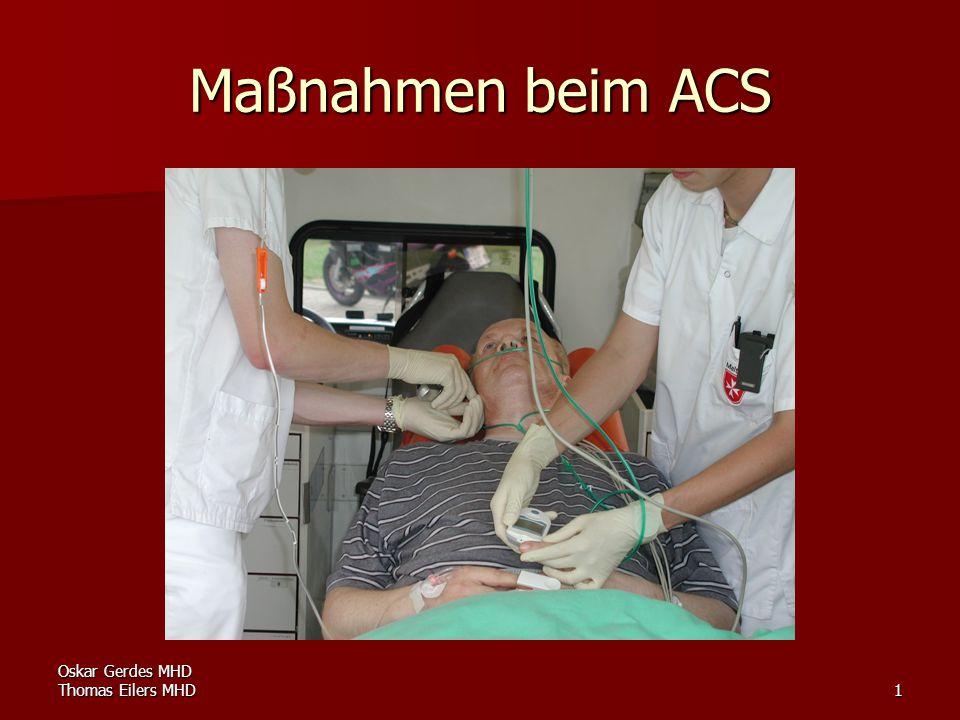 Oskar Gerdes MHD Thomas Eilers MHD12 Erweiterte Maßnahmen Antiemetika bei Übelkeit Metoclopramid 10 mg i.v.