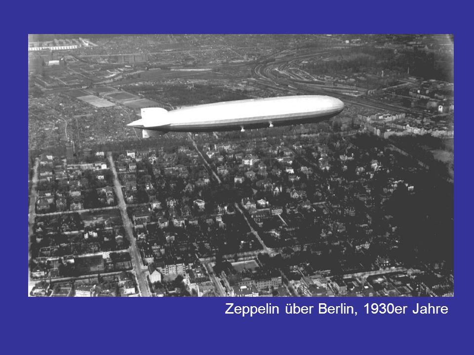 Zeppelin über Berlin, 1930er Jahre