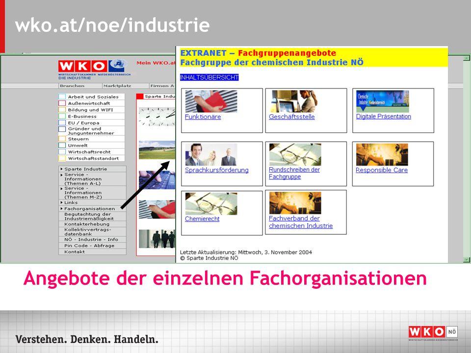 wko.at/noe/industrie Kollektivvertragsdatenbank