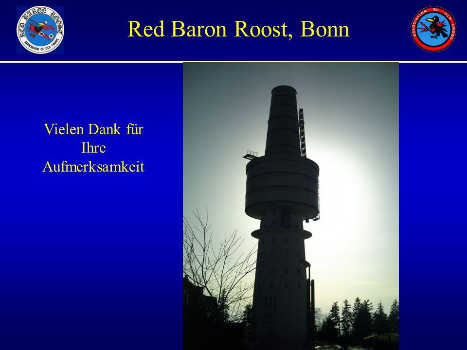Unauthorized Views only Red Baron Roost, Bonn Vielen Dank für Ihre Aufmerksamkeit