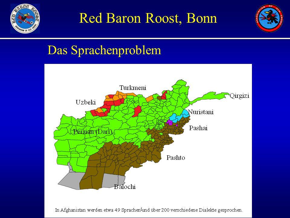 Unauthorized Views only Red Baron Roost, Bonn Das Sprachenproblem