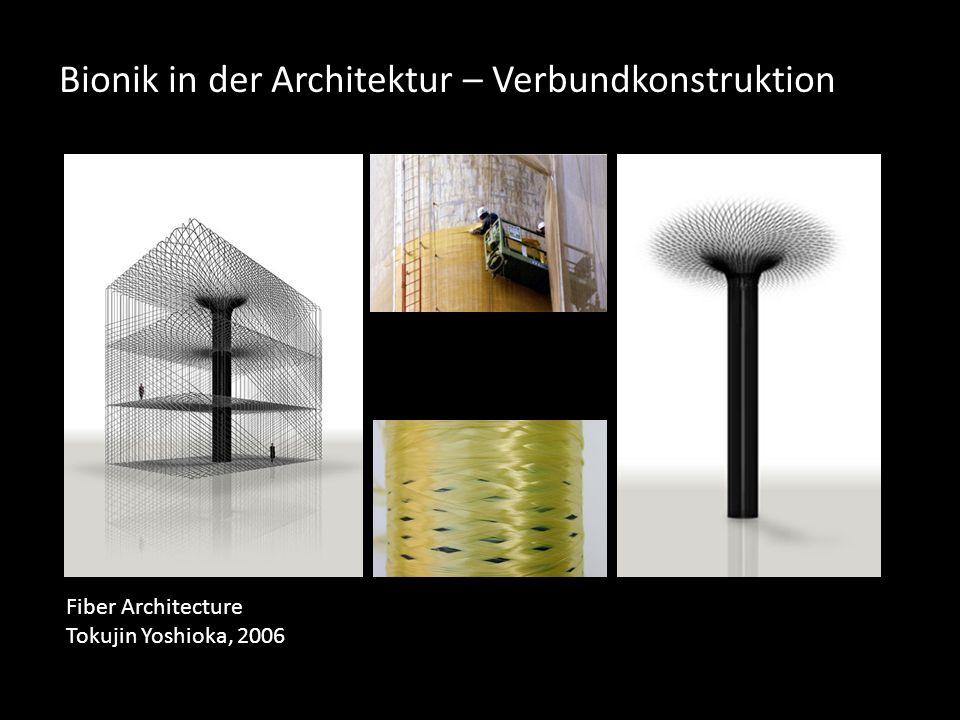 Bionik in der Architektur – Verbundkonstruktion Fiber Architecture Tokujin Yoshioka, 2006