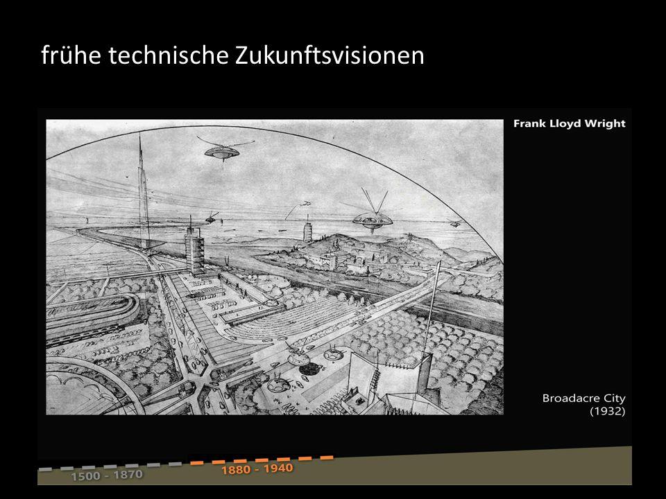 frühe technische Zukunftsvisionen