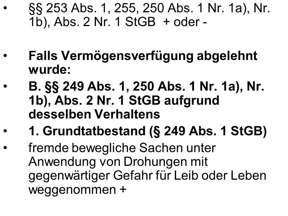 3.Ergebnis § 222 StGB + IV. Ergebnis für A im 3. Tatkomplex A: §§ 224 Abs.