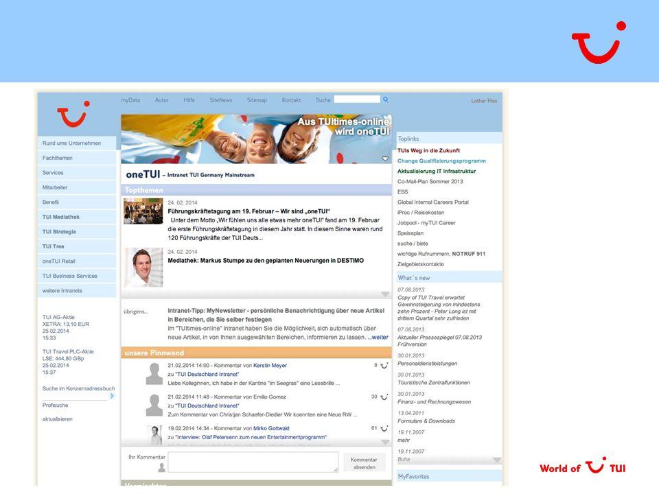 TUI Consulting & Services GmbH | OneTUI – Impulspapier | 02.04.2015 | Seite 8
